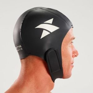 neoprene swim cap side